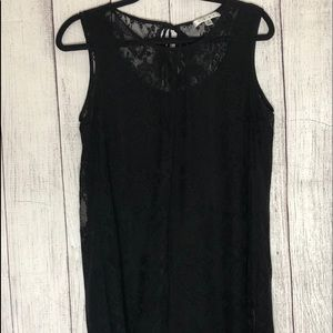 Sexy date night lacy tank top